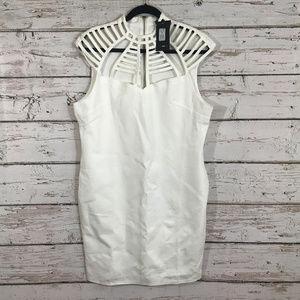 Fashion Nova Cut Out Neckline Dress NWT